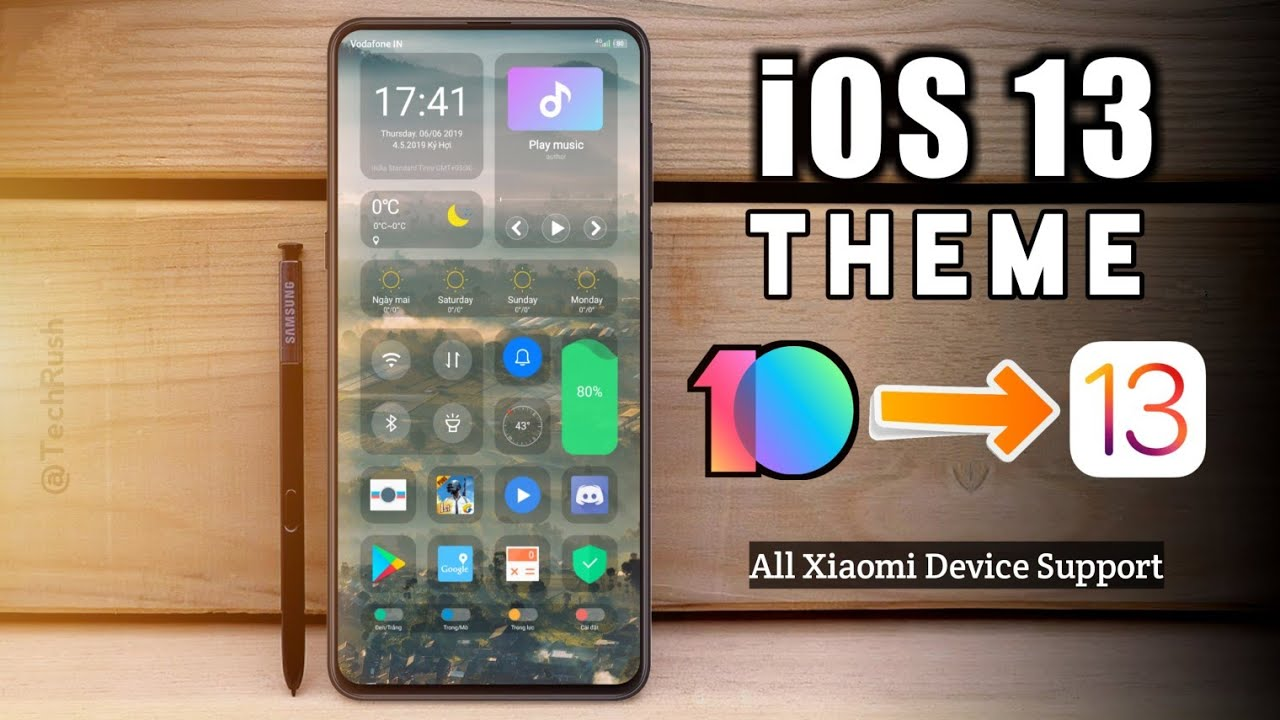 iOS 13 new xiaomi themes | Tech Rush