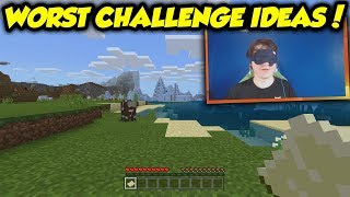 I Tried All Of The Most Ridiculous Minecraft Challenges