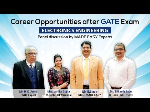 Career Opportunities after GATE | Electronics Engineering | MADE EASY Mp3