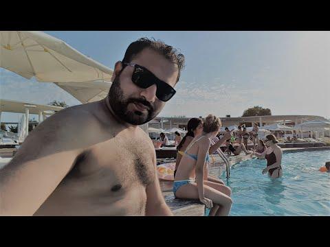 Pool Party at Amburan Beach - Azerbaijan