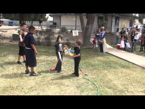 RAW VIDEO: Imperial Valley Home School Academy students celebrate history with Medieval Festival