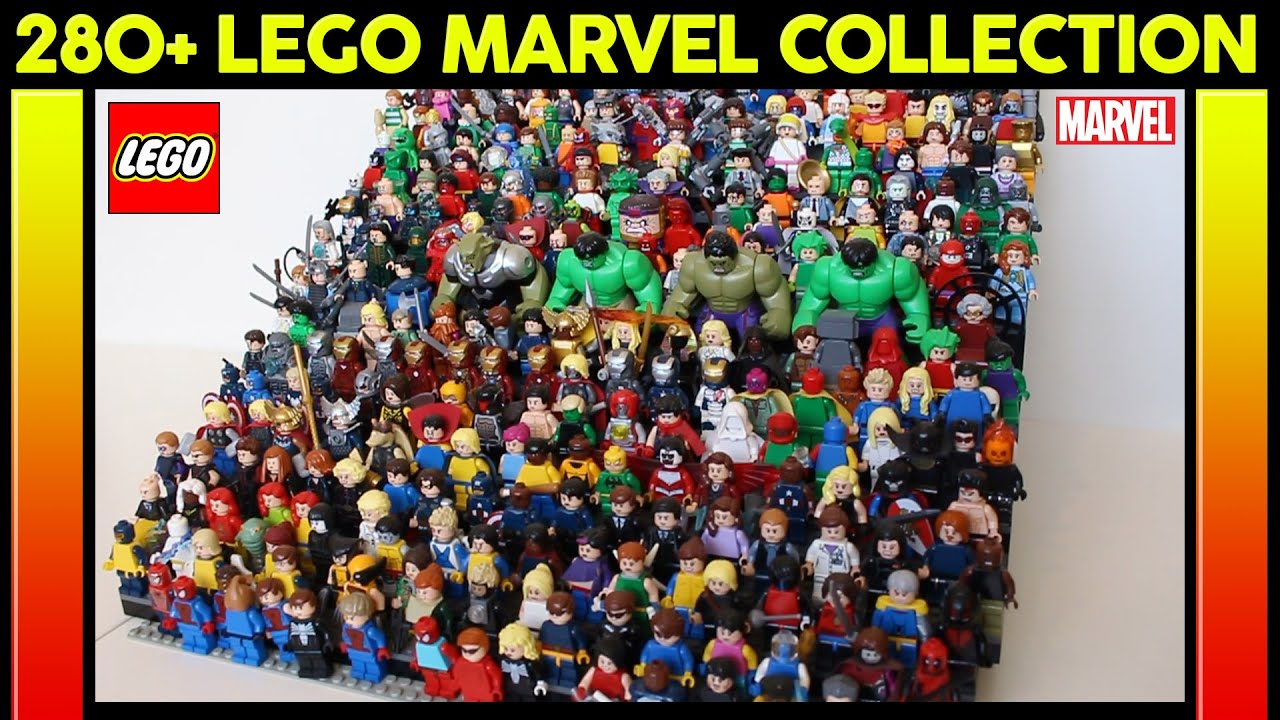 marvel lego collection