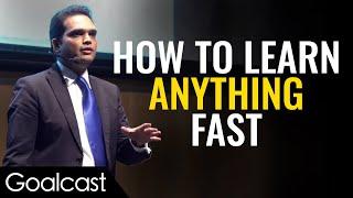 Master of Memory Shares Brain Tricks   Nishant Kasibhatla   Goalcast Speech