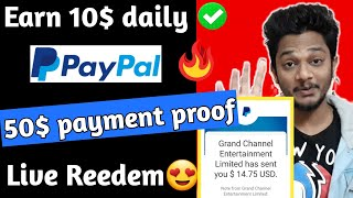 ClipClaps App 50$ Payment Proof | Best Paypal Cash Earning Apps 2020 | Paypal Earn Money Apps 2020