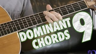 How to Play and Use Dominant 9 Chords on Guitar