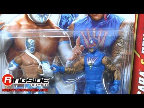 Sin Cara & Rey Mysterio WWE Battle Packs 22 Toy Wrestling Action Figures - RSC Figure Insider
