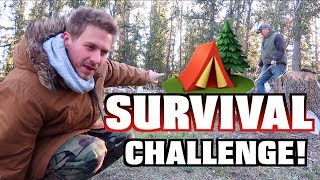 10 WOODS SURVIVAL CHALLENGE 24 Hours