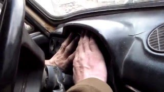 Установка передней панели торпедо на ВАЗ2106.Installing the front dash panel on the VAZ-2106.