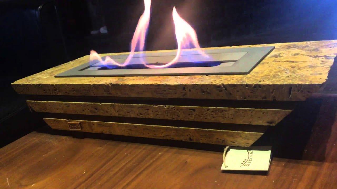 bio ethanol burner youtube