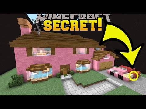 Thumbnail: Minecraft: THE SIMPSONS HOUSE SECRET!!! - Find The Button Buildings - Custom Map