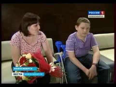 ВЕСТИ-Новосибирск (телеканал Россия 1) о Максиме Савине