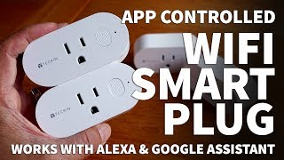 Teckin Wifi Smart Plug Outlet Compatible with Alexa – How to Connect Smart Plug with iPhone