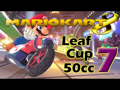 Mario Kart 8 Walkthrough Part 7 - 50cc Leaf Cup (No Commentary)