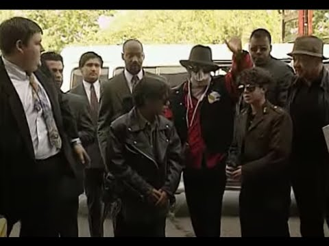Michael Jackson in Chile 1993 - News Reports