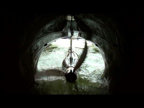 Autriche: l'hydrolienne fluviale se jette à l'eau