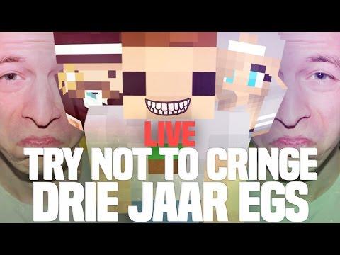 TRY NOT TO CRINGE CHALLENGE LIVE!! DRIE JAAR EGS!