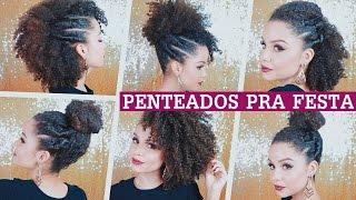 PENTEADOS P/ FESTAS - cabelos crespos/cacheados | por Ana Lídia Lopes