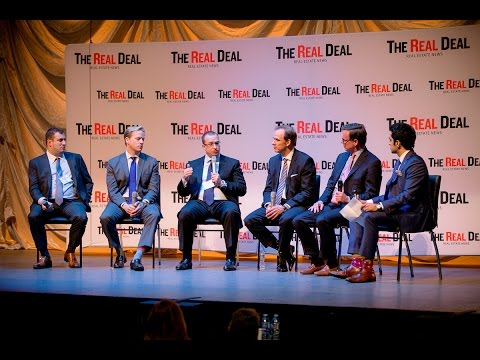 U.S. market investment panel at The Real Deal's Toronto forum