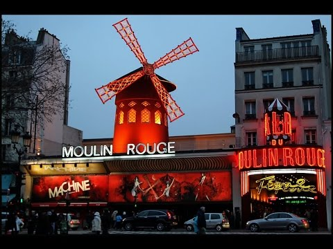 Moulin Rouge (including footage from inside) - Paris
