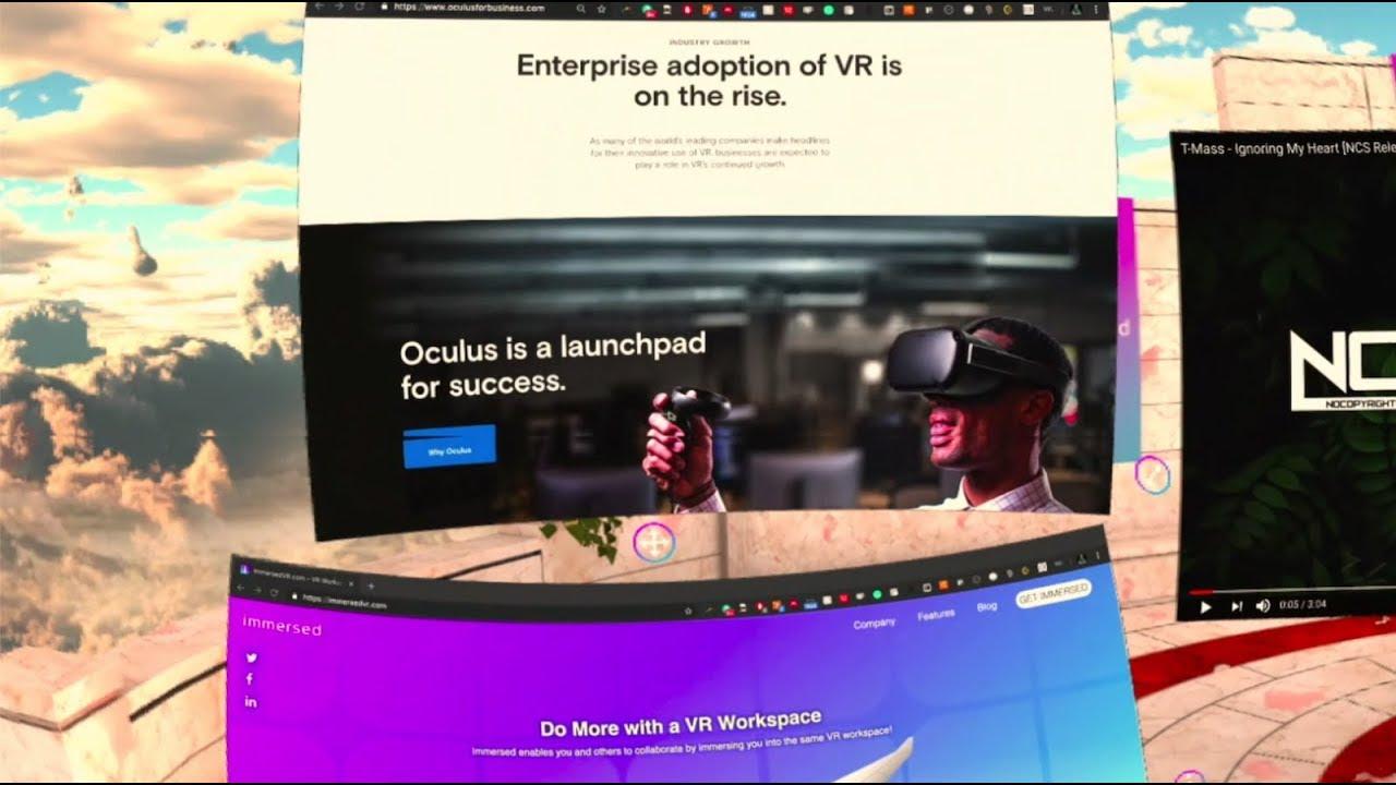 ImmersedVR com - VR Workspace
