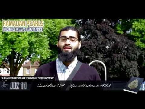 RAMADAN PEARLS - JUZ 11 - YOU WILL RETURN TO ALLAH
