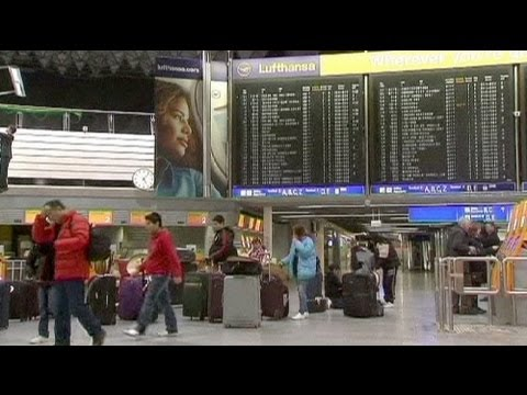 Frankfurt airport strike grounds 200 flights