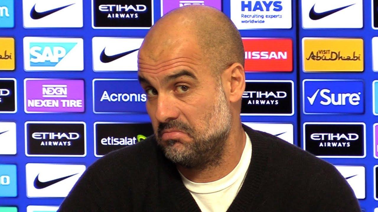 Pep Guardiola Full Pre-Match Press Conference - Manchester City v ...