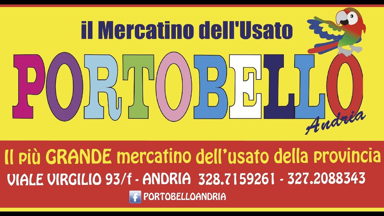 Portobello andria mercatino dell 39 usato youtube for Mercatino usato varedo