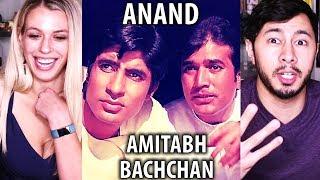 ANAND   Rajesh Khanna   Amitabh Bachchan    Trailer Reaction w/ Kaitlyn!