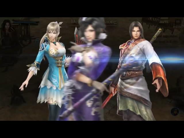 Shin Dynasty Warriors Unleashed trailer