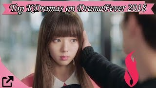 Top Korean Dramas on DramaFever 2018