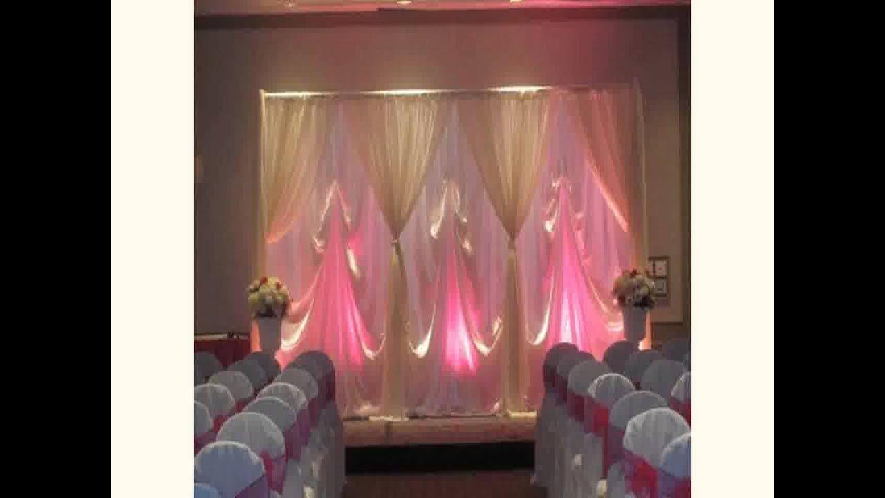 New Decoration For Wedding Reception Youtube