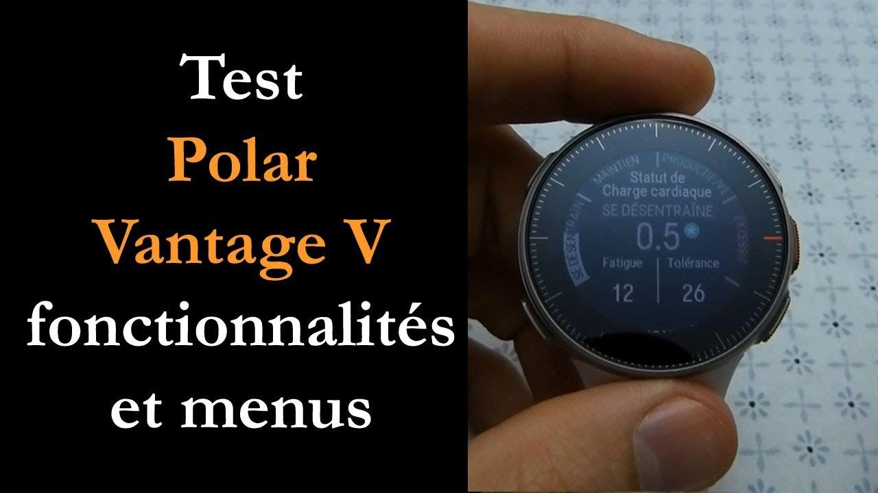 Test Polar Vantage V