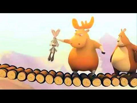 Мультфильм про лося и медведя