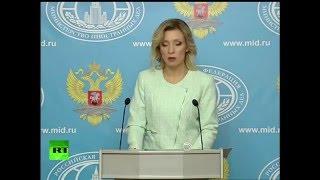 Мария Захарова пообещала США «что нибудь особенное» в ответ на антироссийские санкции