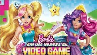 Barbie em um mundo de video game filme completo