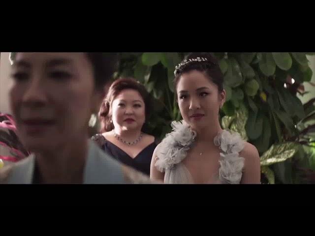 katherine ho - yellow (coldplay cover ) Lyrics 瘋狂亞洲富豪 Crazy Rich Asians soundtrack