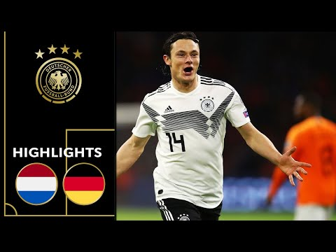 Schulz with dramatic last-minute winner | Netherlands vs. Germany 2-3 | Highlights | Euro Qualifiers