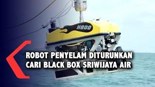 TNI Turunkan Robot Penyelam ROV Cari Black Box Sriwijaya Air SJ182