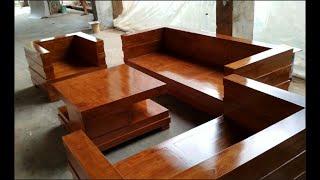 Kursi Tamu Box Minimalis Terbaru Kayu Jati