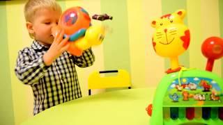 Розвиваючі іграшки Музична равлик і дитяче піаніно кіт розпакування на TUMANOV FAMILY
