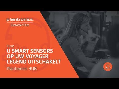 Hoe U Smart Sensors op uw Voyager Legend Uitschakelt