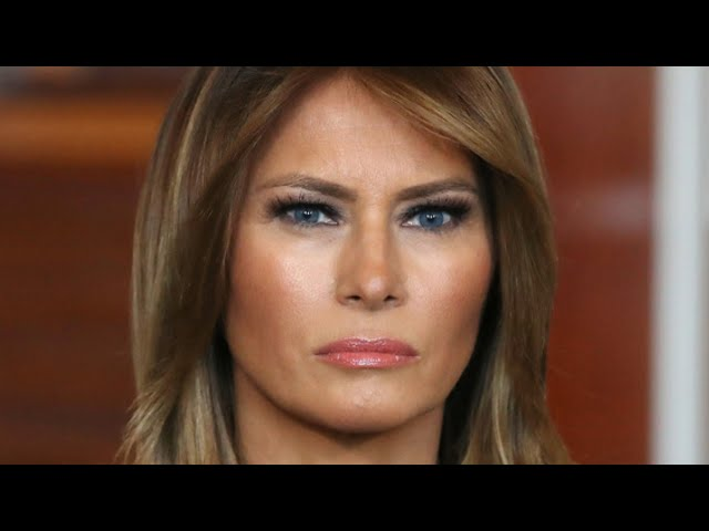Melania Trump's Actions After Landing In Florida Is Turning Heads