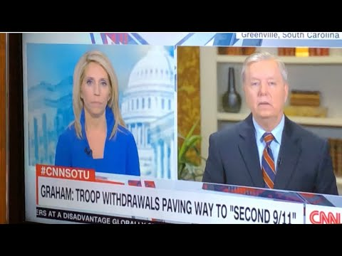 "Senator Lindsey Graham Says ""Bullshit"" On CNN Without Being Bleeped Out"