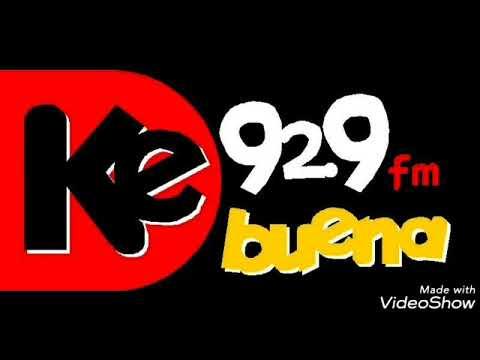 ESTACIONES DE RADIO  KE BUENA 92.9FM CON PEPE GARZA Y ALGO MAS CDMX 1993