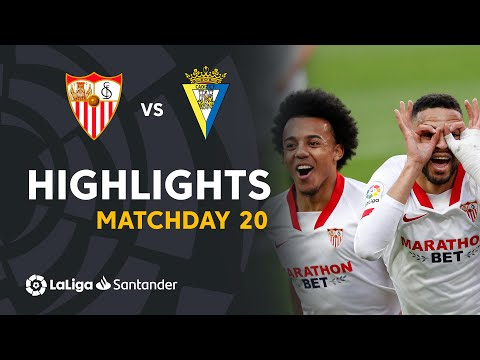 Sevilla Cadiz Goals And Highlights