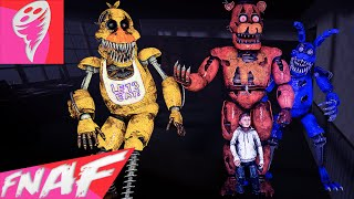 FIVE NIGHTS AT FREDDY'S 4 SONG (TONIGHT WE'RE NOT ALONE by Ben Schuller) FNAF Music Video