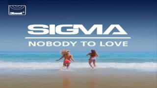 Sigma - Nobody To Love -Radio Edit- Remix Alvin i wiewiórki
