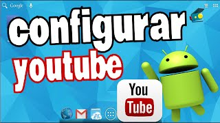 Instalar Youtube e Configurar no Android, celular e tablet