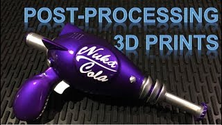 How to Post Process Your 3D Printed Props For Cheap